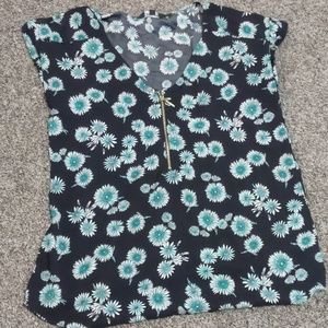 Flower Express Blouse